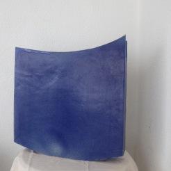 Blue # 09   46 x 44 x 12 cm
