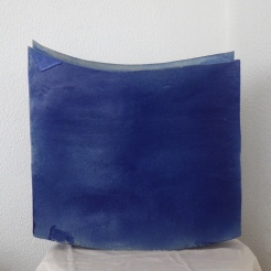 Blue #09   other side   46 x 44 x 12 cm