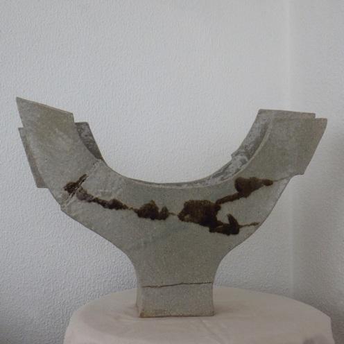 boat vase #08 | 37 x 54 x 11 cm
