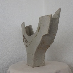 boat vase #08   side view   37 x 54 x 11 cm