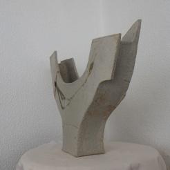 boat vase #08 | side view | 37 x 54 x 11 cm