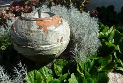 spherical fountain #05 | diameter 44 cm - height 69 cm