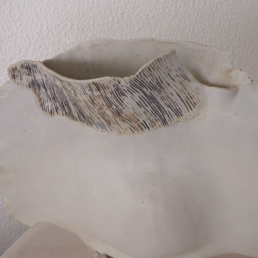 Moon vase #07   detail   31 x 33 x 9 cm
