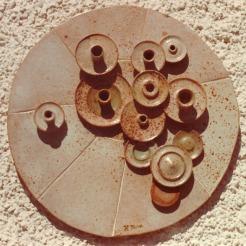 round mural 06 | diameter 60 cm | 70's
