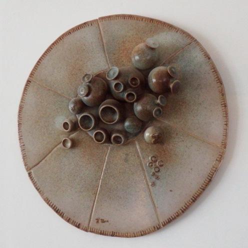 round mural 07 | diameter 62 cm | 70's
