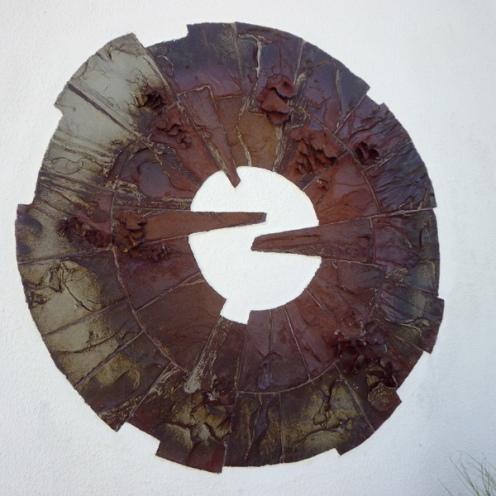 Windmill mural | diameter 95 cm