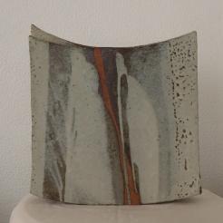 square vase #10   37 x 35 x 9 cm