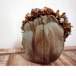 Vase # 03   48 x 38 x 11 cm