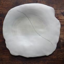 moon plate | 35 x 40 x 4,5 cm | porcelain | 1992