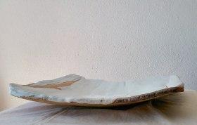 white plate #01 | 38 x 38 x 6,5 cm