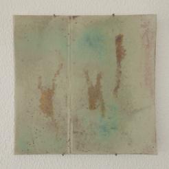 golden stroke plate | 32 x 32 cm | porcelain | 1992